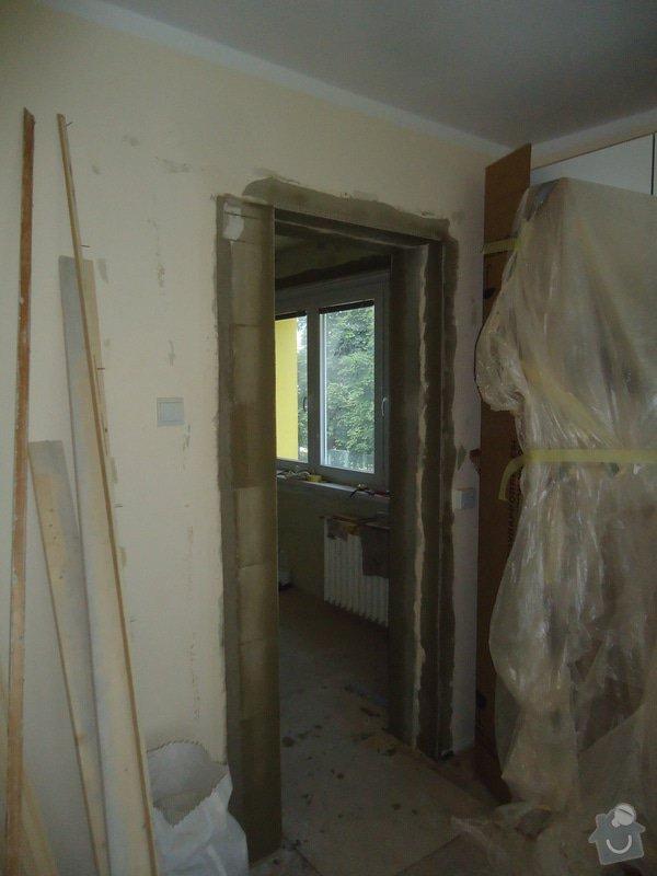 Rekonstrukce kuchyně a koupelny v bytě bytového domu: 15