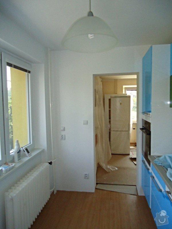 Rekonstrukce kuchyně a koupelny v bytě bytového domu: 16