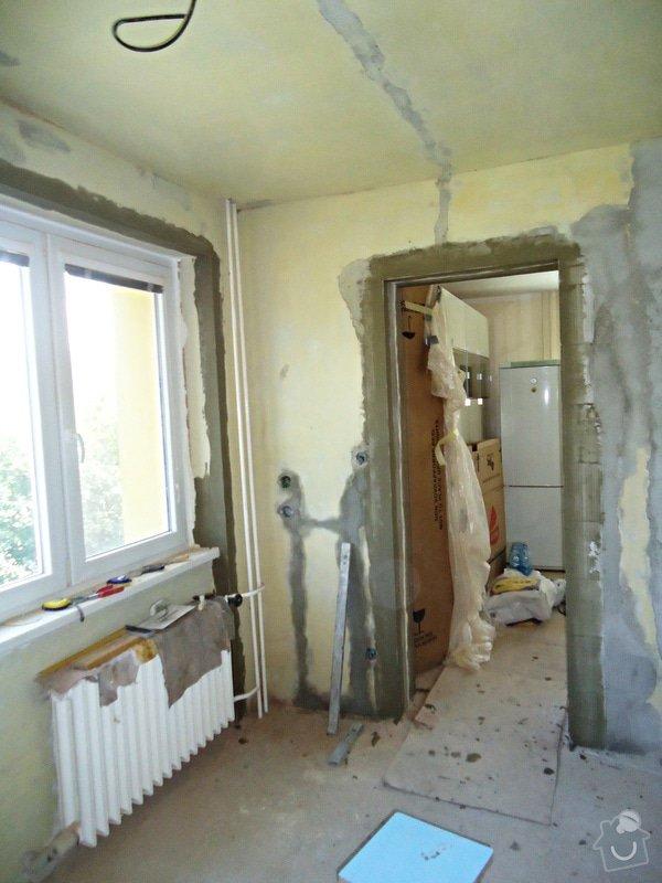 Rekonstrukce kuchyně a koupelny v bytě bytového domu: 18
