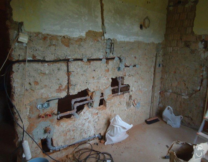 Rekonstrukce kuchyně a koupelny v bytě bytového domu: 20