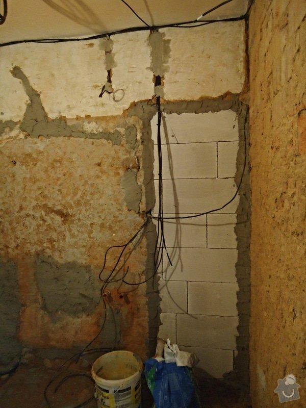 Rekonstrukce kuchyně a koupelny v bytě bytového domu: 24