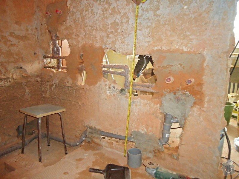 Rekonstrukce kuchyně a koupelny v bytě bytového domu: 25