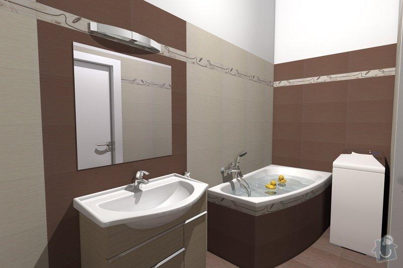 Instalaterske prace koupelna : Render_01