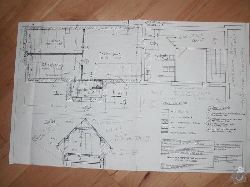 Rekonstrukce podkroví a zvednutí verandy: CIMG4549