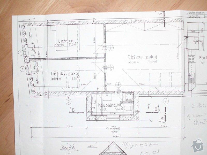 Rekonstrukce podkroví a zvednutí verandy: CIMG4551