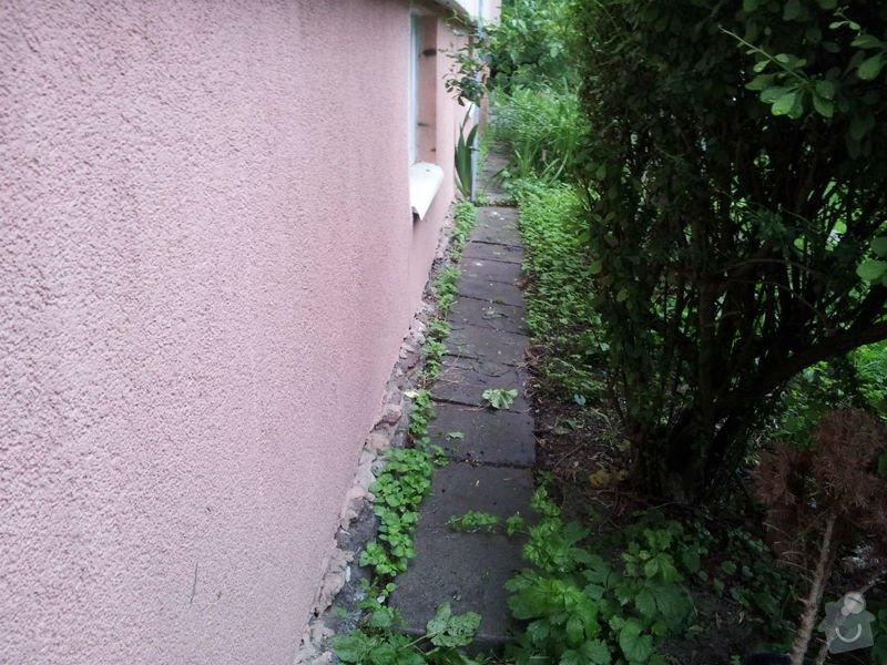 Rekonstrukce okapového chodníku: 20130522_191621