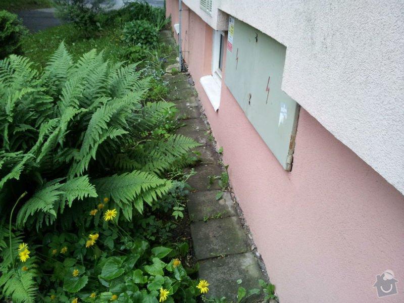 Rekonstrukce okapového chodníku: 20130522_191728