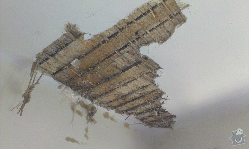 Odstranění medu od les.včel z dřevěné podlahy (med prosakuje stropem v místnosti pod podlahou.: IMAG1904