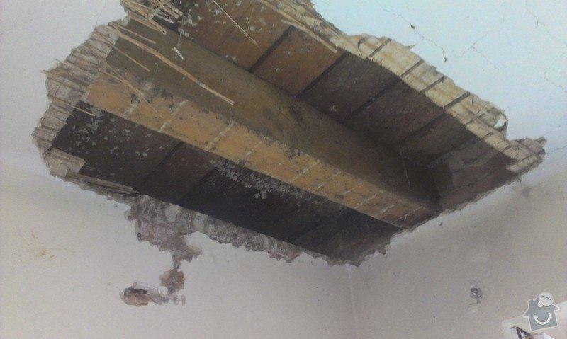 Odstranění medu od les.včel z dřevěné podlahy (med prosakuje stropem v místnosti pod podlahou.: IMAG1928