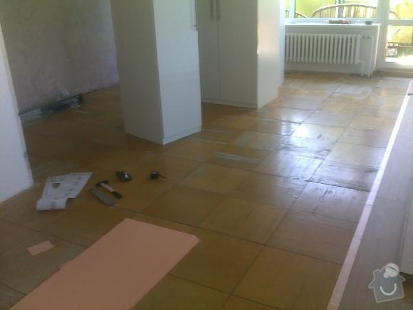 Montáž plovoucí vinylové podlahy Gerflor: sokolnice2
