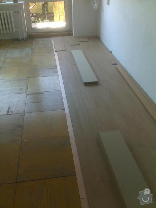 Montáž plovoucí vinylové podlahy Gerflor: sokolnice3