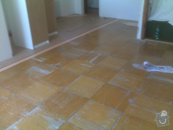 Montáž plovoucí vinylové podlahy Gerflor: sokolnice5