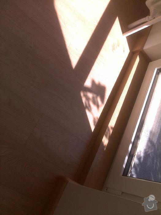Montáž plovoucí vinylové podlahy Gerflor: sokolnice8
