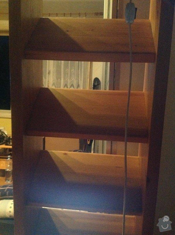 Úprava dřevěných schodů na patro: obrazek