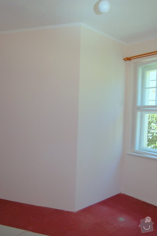 Postavení sádrokartonové příčky a vymalováni (1pokoj a příčka): pokoj_3