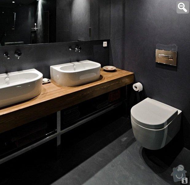 Imitace betonu na stěny (kuchyň, koupelny, krb): koupelna_-_podlaha