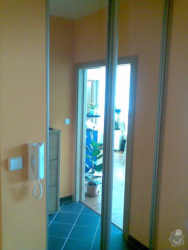 Zařízení interiéru- kuchyně, vestavěné skříně, jídelna, ložnice: studio_076
