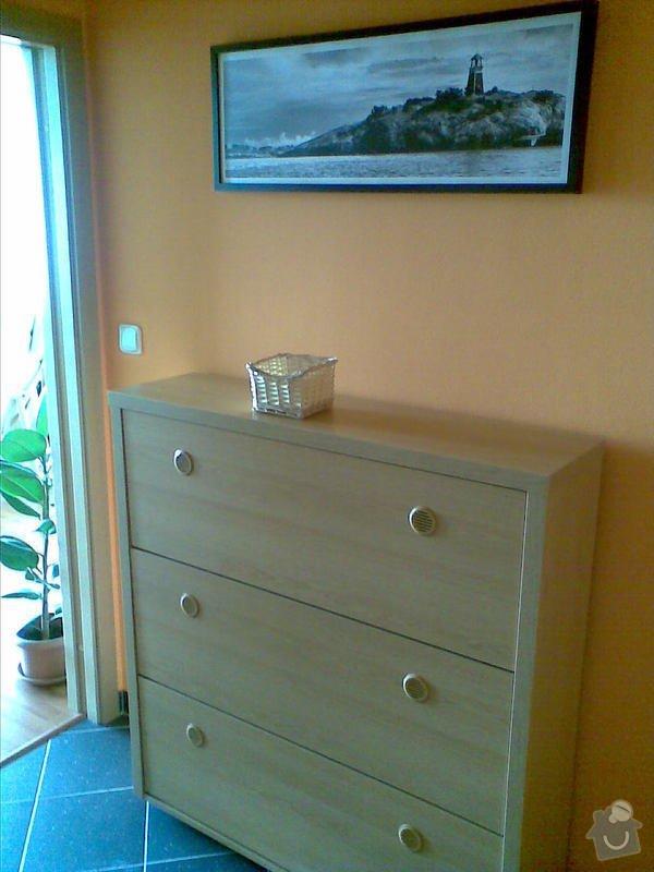 Zařízení interiéru- kuchyně, vestavěné skříně, jídelna, ložnice: studio_079