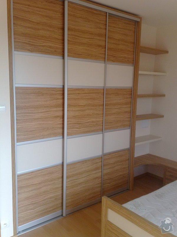 Zařízení interiéru- kuchyně, vestavěné skříně, jídelna, ložnice: 02112010689