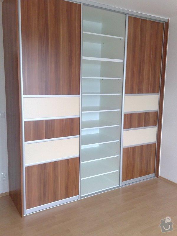 Zařízení interiéru- kuchyně, vestavěné skříně, jídelna, ložnice: 06042011718