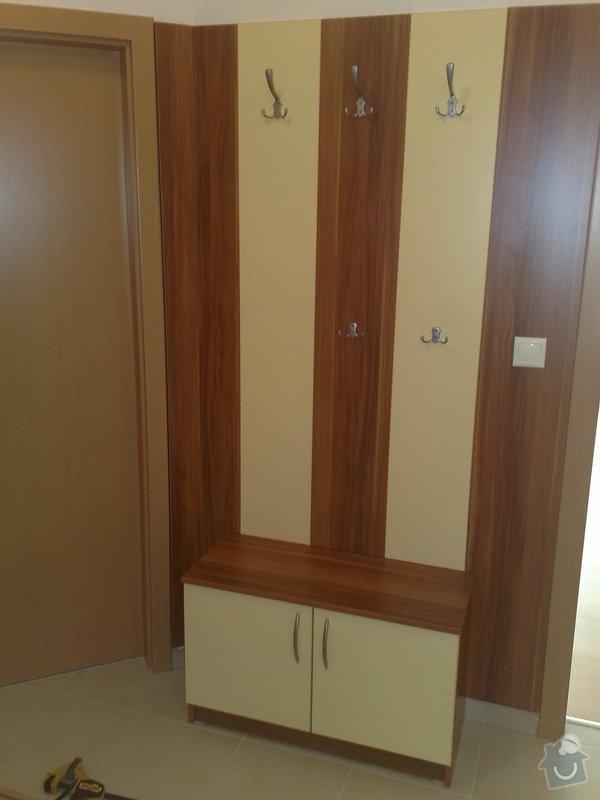 Zařízení interiéru- kuchyně, vestavěné skříně, jídelna, ložnice: 06042011723