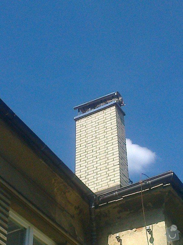 Frézování a vložkování komínu: Fotografie0473