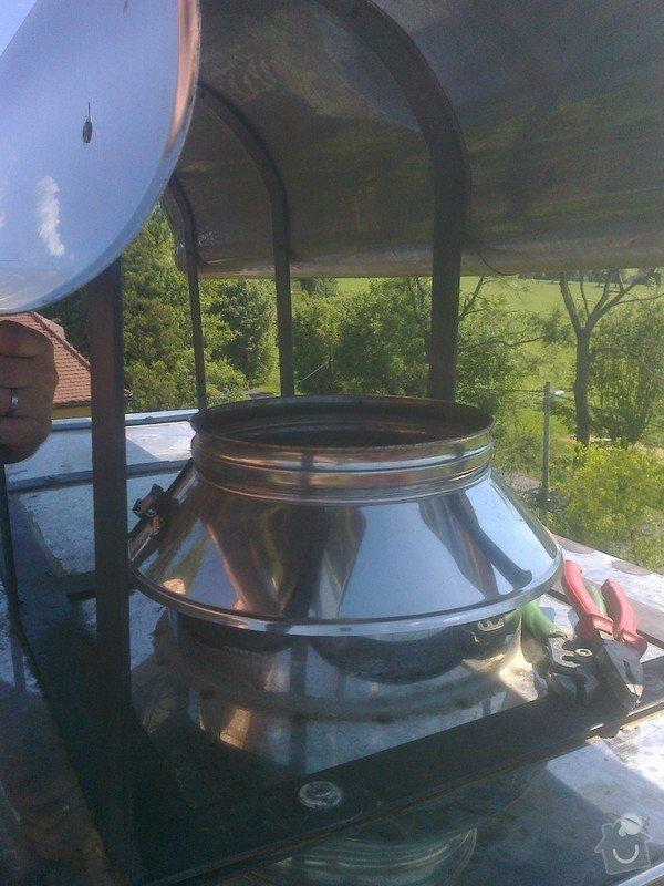 Frézování a vložkování komínu: Fotografie0474