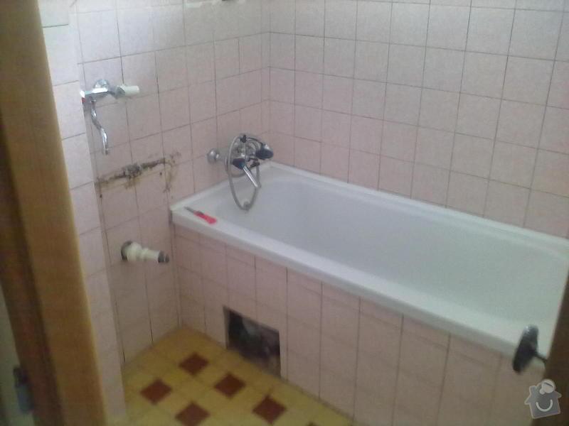 Rekonstzrukce Koupelny,wc,kuchyně: 1