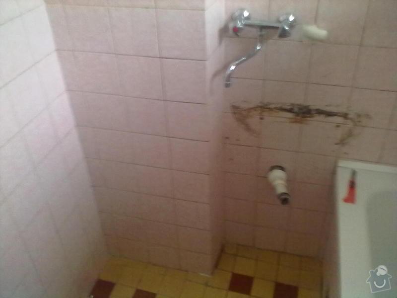 Rekonstzrukce Koupelny,wc,kuchyně: 3