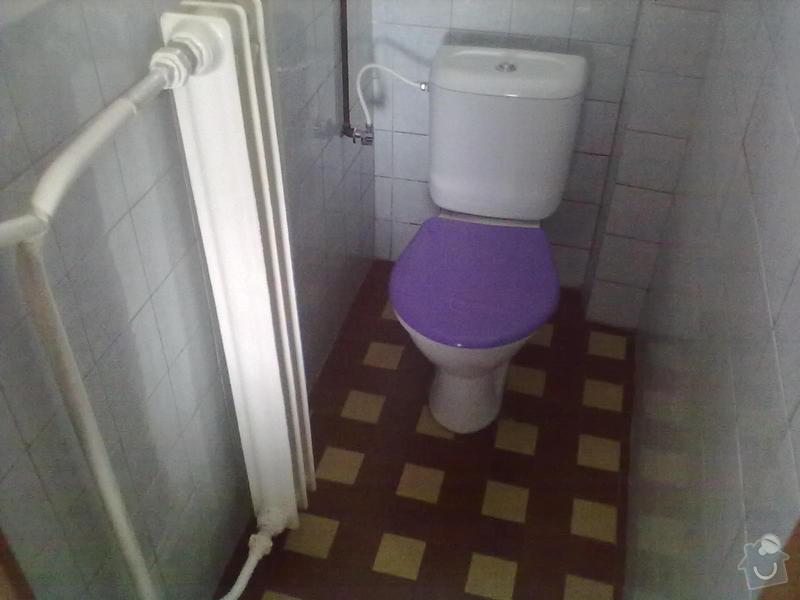 Rekonstzrukce Koupelny,wc,kuchyně: 2