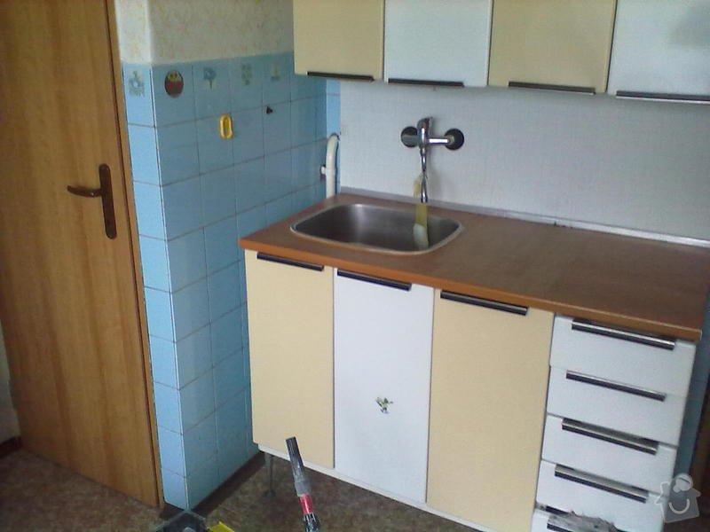 Rekonstzrukce Koupelny,wc,kuchyně: 1L