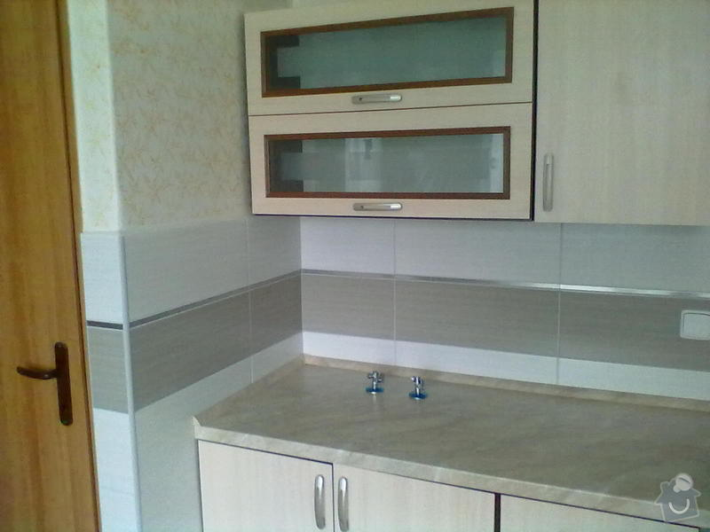 Rekonstzrukce Koupelny,wc,kuchyně: 13L
