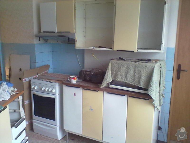 Rekonstzrukce Koupelny,wc,kuchyně: 1P