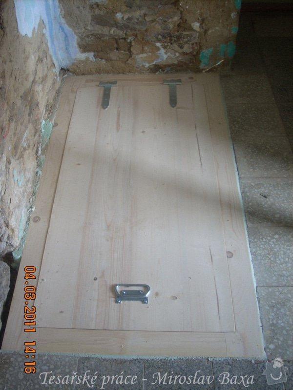 Výroba poklopu do sklepa - dřevo: mirek-004