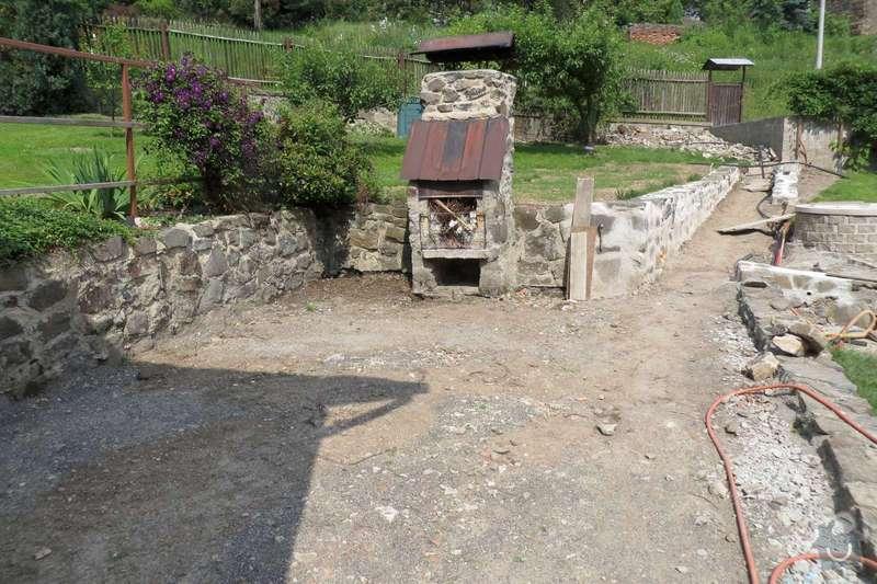 Pokladka dlazby, terenni uprava, venkovni schody: IMG_1547-1600