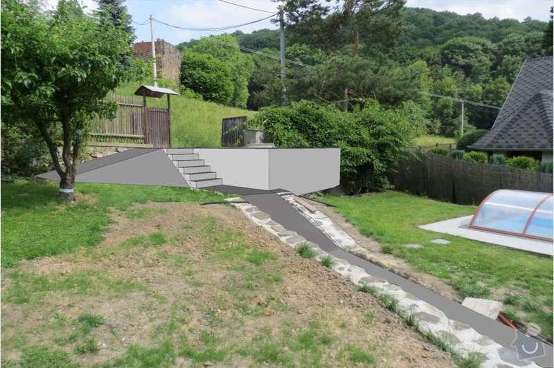 Pokladka dlazby, terenni uprava, venkovni schody: vizo1-1600