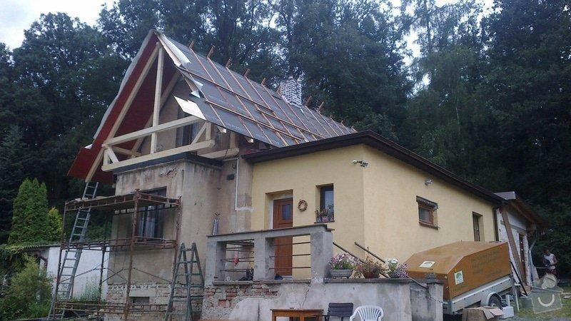 Zhotovení střechy: 2013-07-11-324