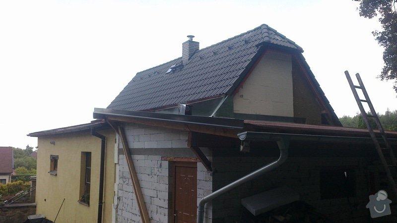 Zhotovení střechy: 2013-07-17-333