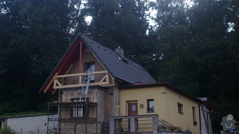 Zhotovení střechy: 2013-07-17-330