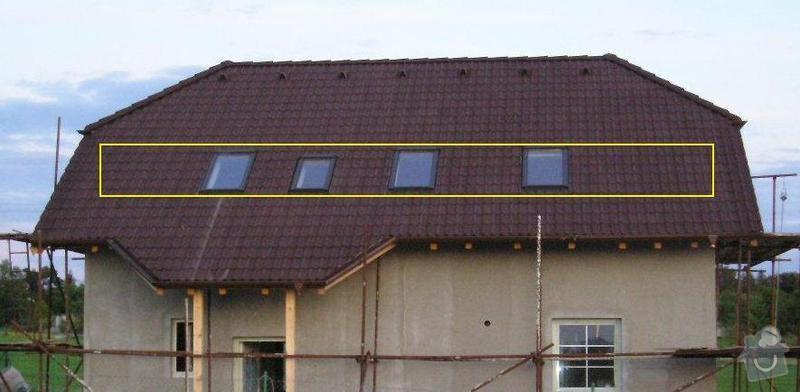 Oprava tepelné izolace s výměnou folie ve střeše: poptavka
