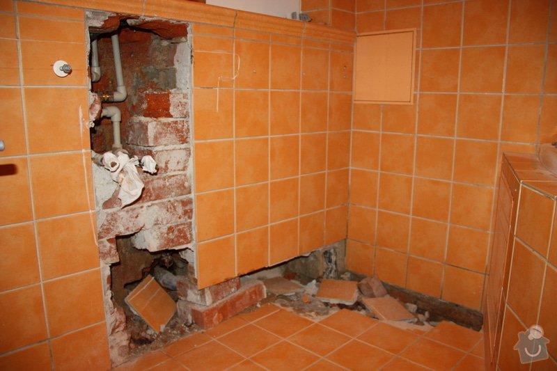 Obkladačské, zednické a instalatérské práce v koupelně: IMG_6607
