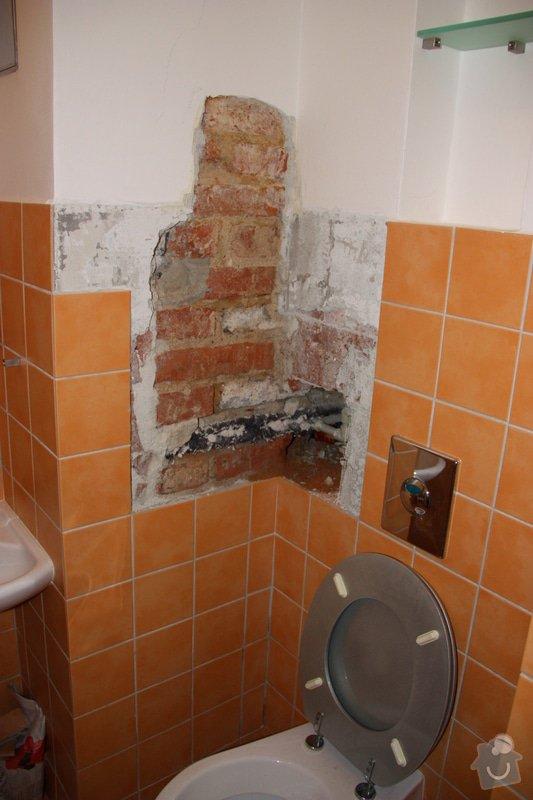 Obkladačské, zednické a instalatérské práce v koupelně: IMG_6611