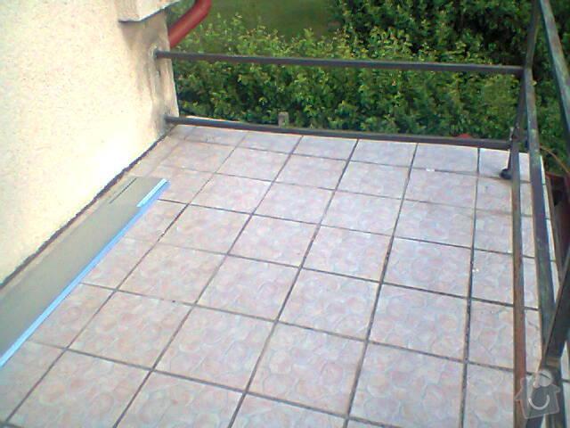 Oplechování balkonu (8x2): Fotografie0704