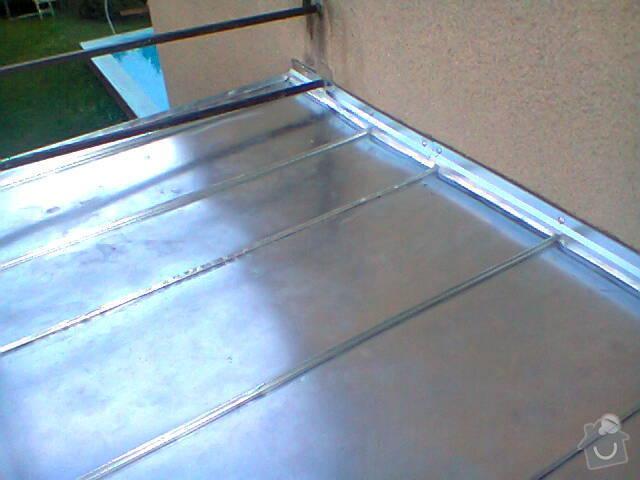 Oplechování balkonu (8x2): Fotografie0709