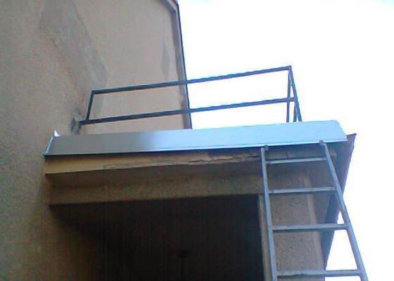 Oplechování balkonu (8x2)