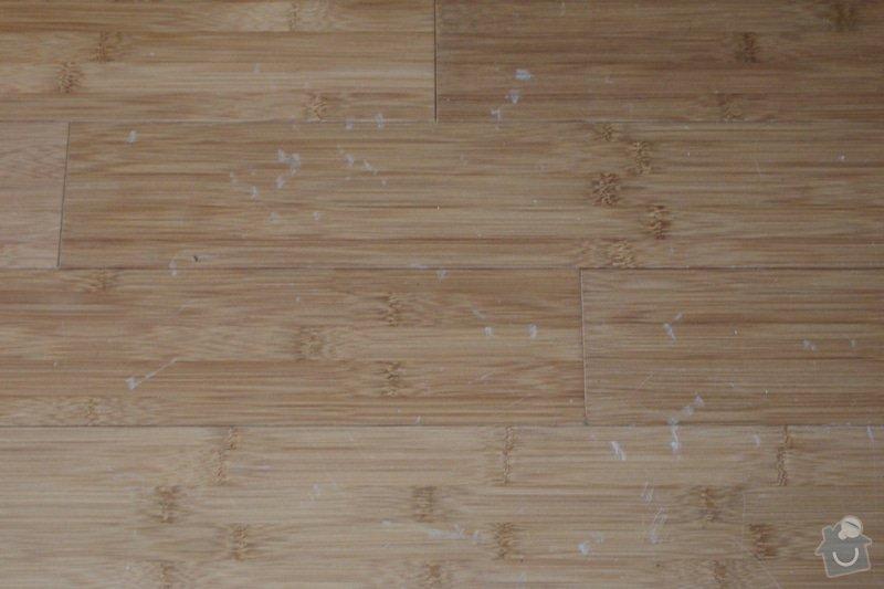 Renovace bambusové podlahy: P7233077