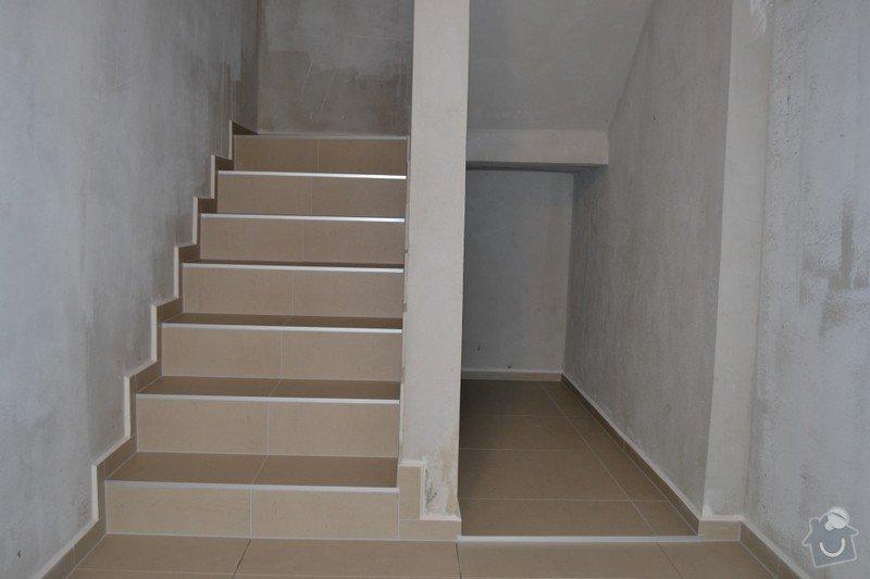 Obložení schodiště a položení dlažby v novostavbě rodinného domu: R_2_