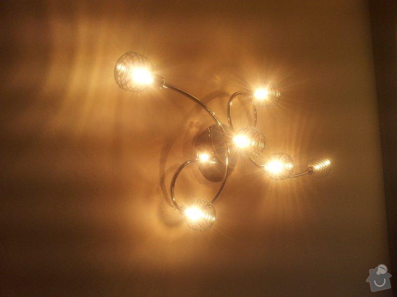 Elektrikářské práce - zapojení lustrů: pi.Stemberkova