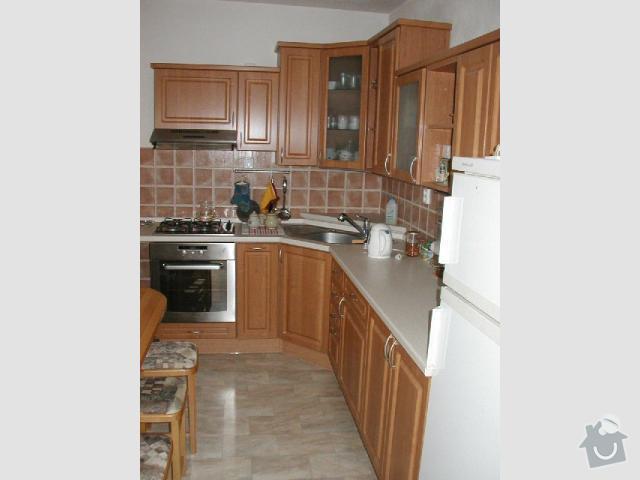 Vestavbu myčky do stávající kuchyňské linky: 1