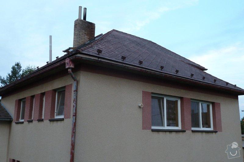 Oprava komínu v nadstřešní části: Komin_001